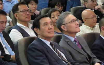 新加坡学者演讲 马英九台下当观众 | 台湾新闻 – 星岛环球网